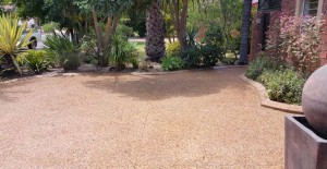 Exposed Aggregate - Hex